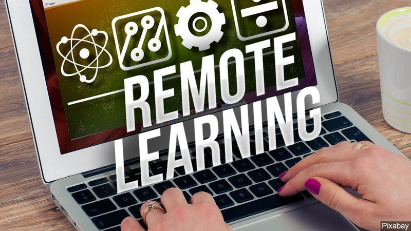 Remote Learning Material Distribution