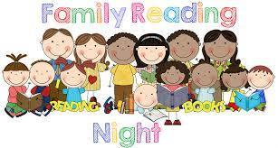 Maple Family Reading Night October 11, 2018
