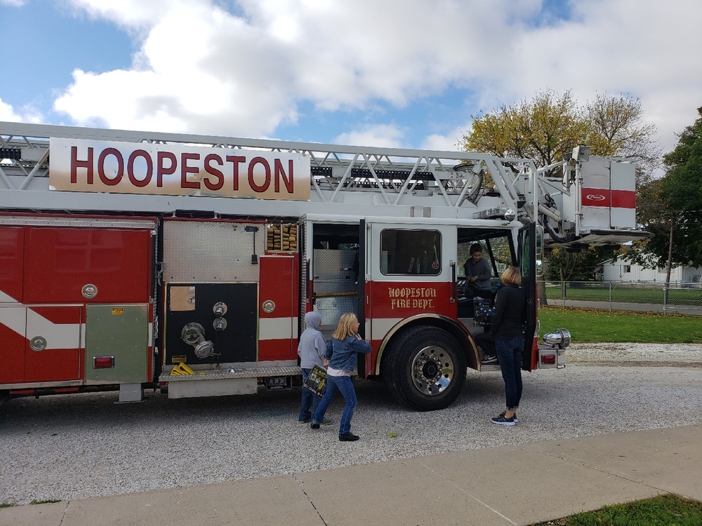 Maple Students Learn Fire Safety