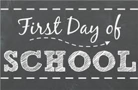 First Day Of School Student Info For In-Person Learners