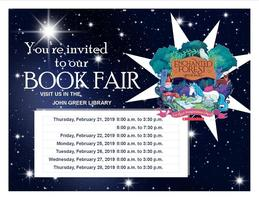 John Greer Book Fair