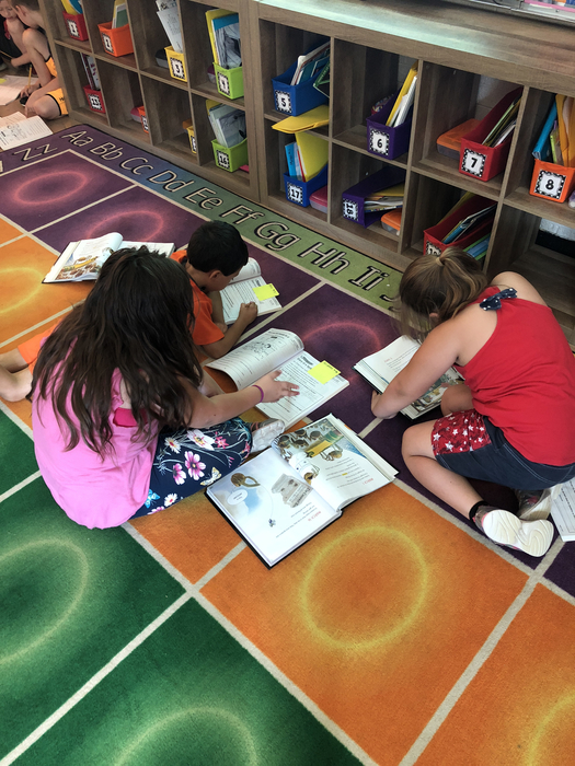 Working together in second grade makes reading more fun!