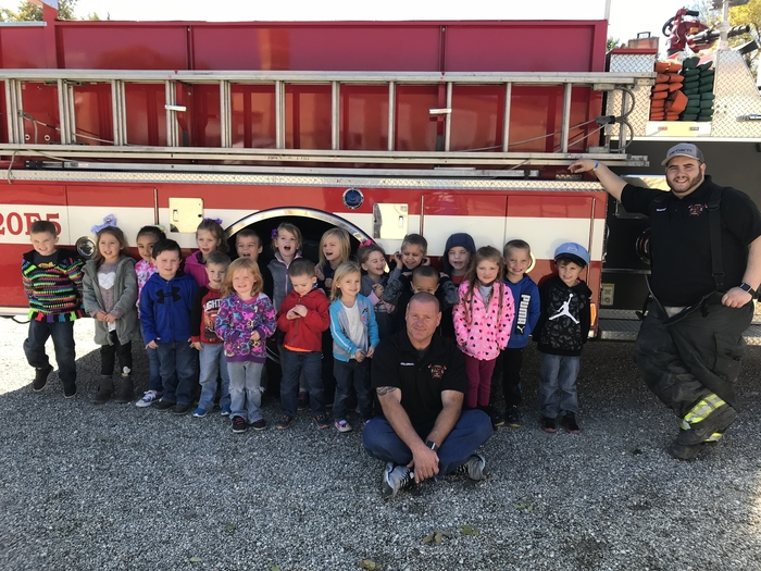 Pm class with firemen