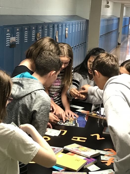 8th Grade WEB Night Escape Room