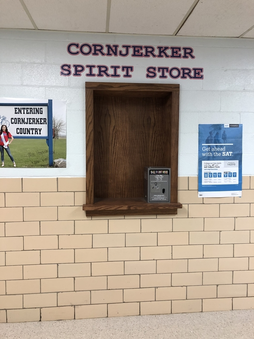 Cornjerker Spirit Store about to open!!!!