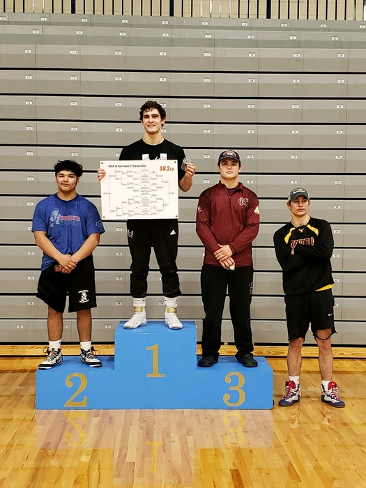 2nd place at Sectionals Abel Colunga