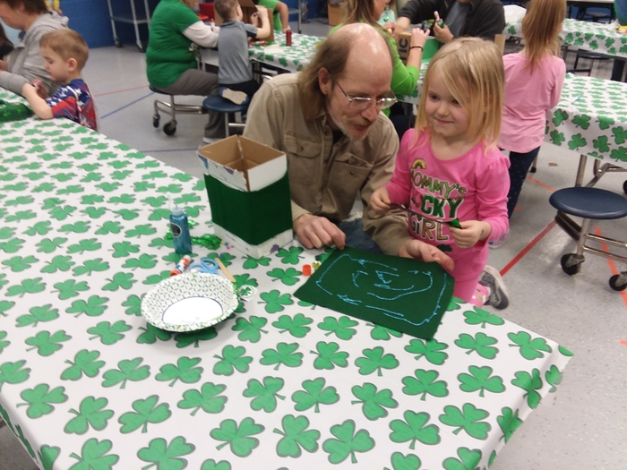 Making Leprechaun traps in Pre-K/EC