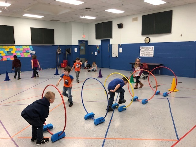 Kindergarten supervised recess