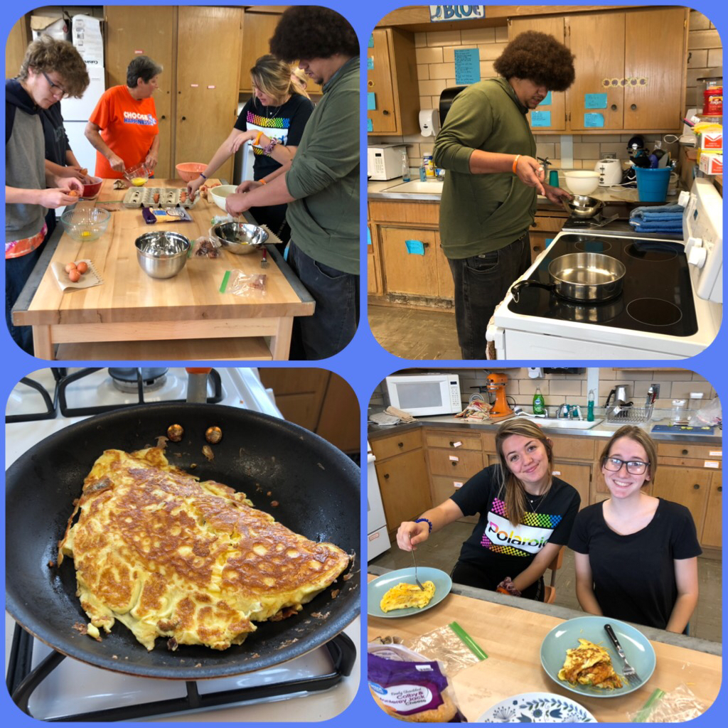 Consumer Math making Omelets! Yummy!