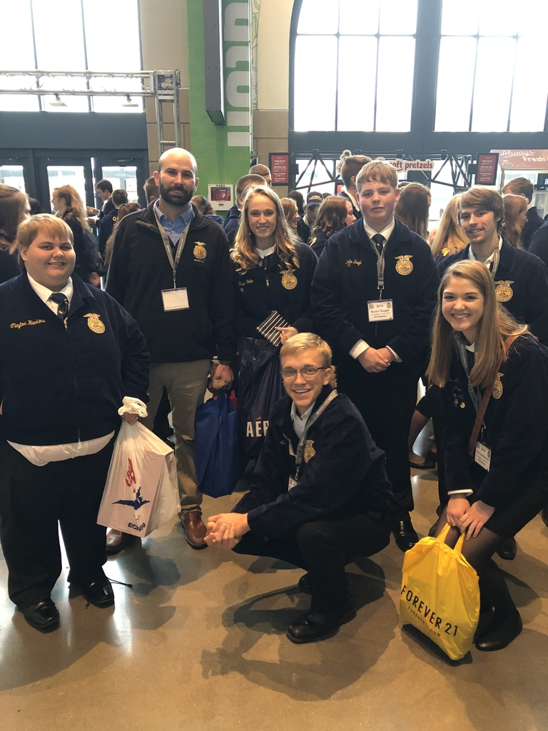 FFA Members with an HA Alumni