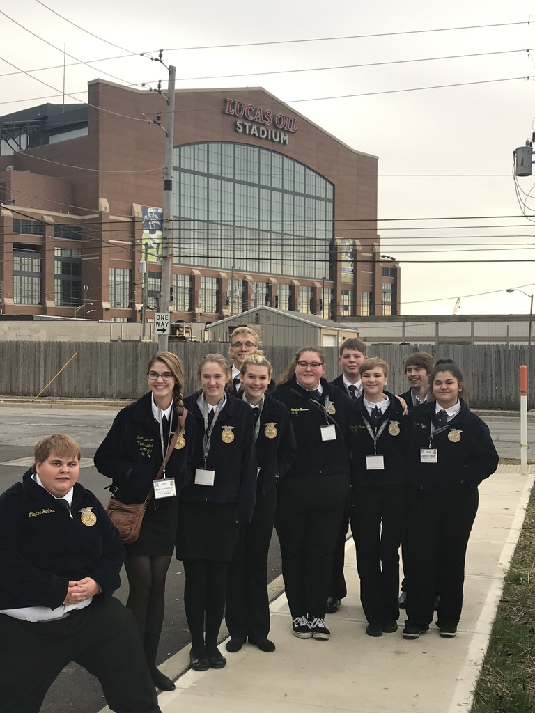 HAHS FFA at National FFA Convention