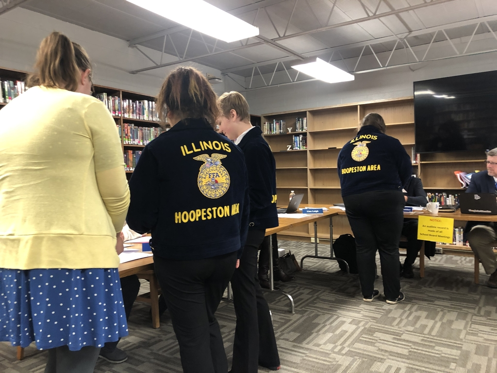 FFA Presenting to the board