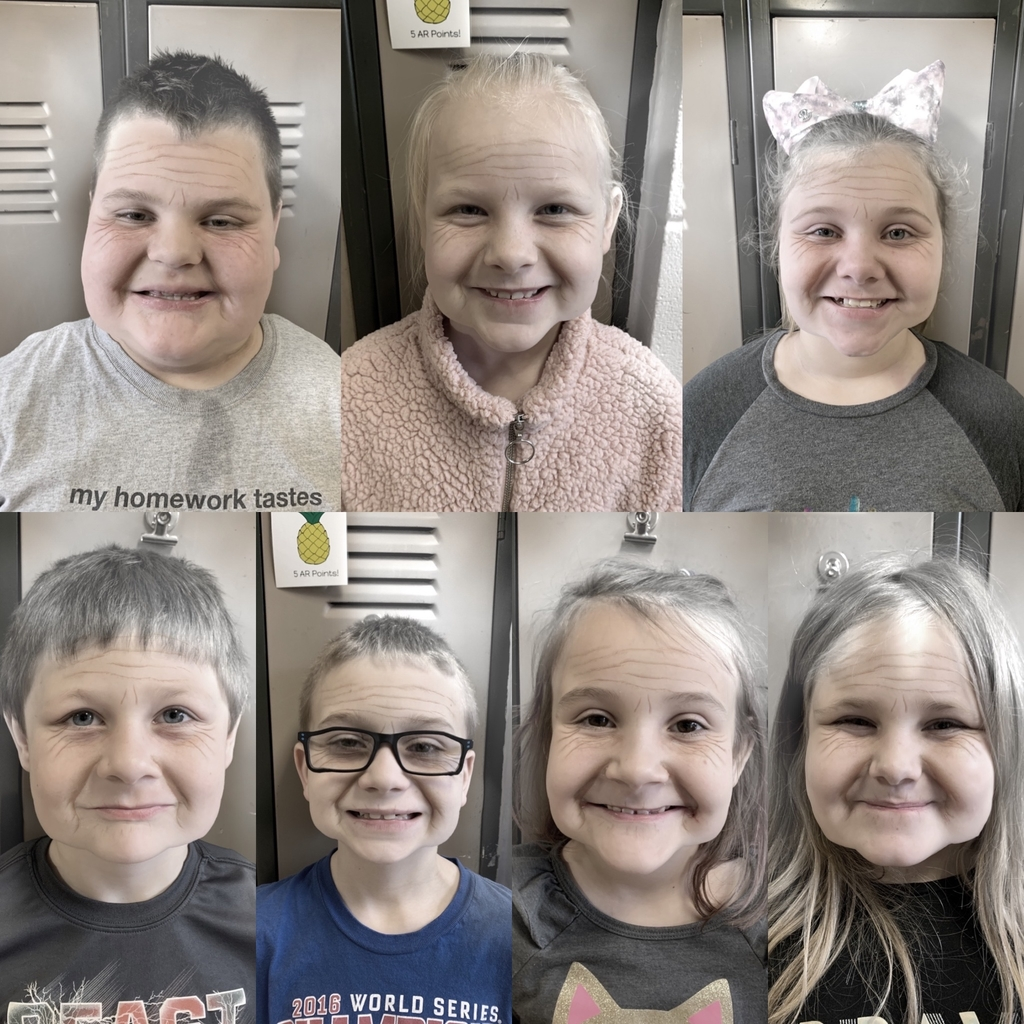 Second graders have aged over night! 😳 #100thday
