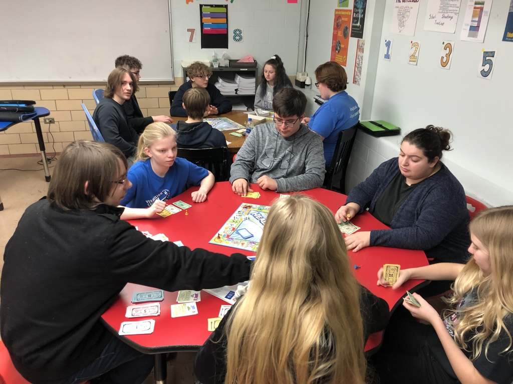 Health classes playing Healthopoly to learn about Drugs, Alcohol and tobacco